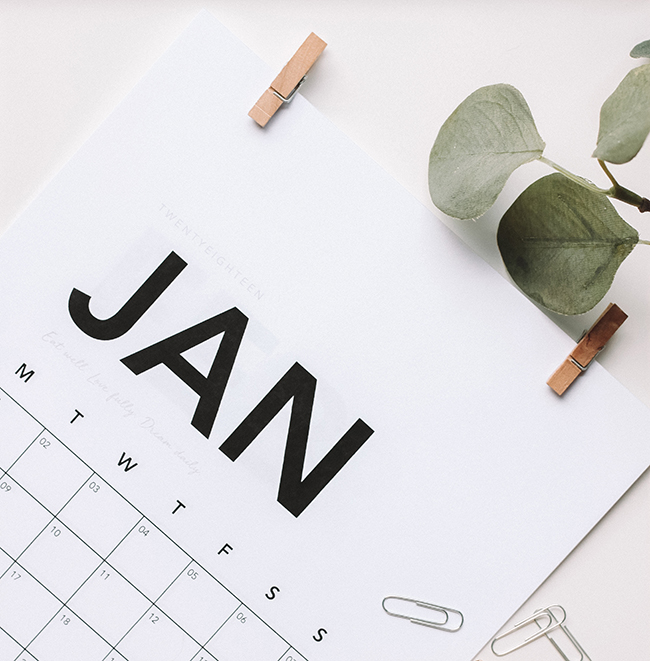 Create an editorial calendar for your email marketing